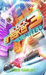 Игра Block Breaker 3 Unlimited (240х400 / Touch screen / Java)
