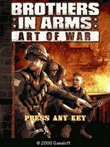 Игра Brothers in Arms Art of War (240х400 / Touch screen / Java)