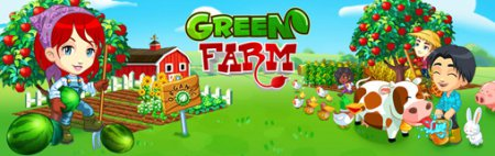 Игра Green Farm (240х400 / Touch screen / Java)